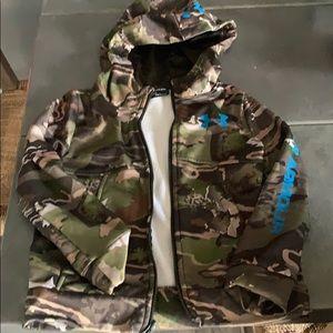Boys Under Armor Hoodie XXS